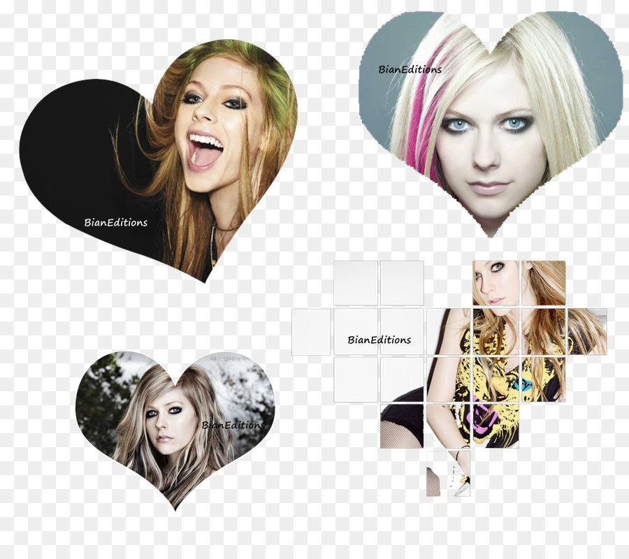 Avril Lavigne, la coloración del Cabello de Arte Peluca - avril ...