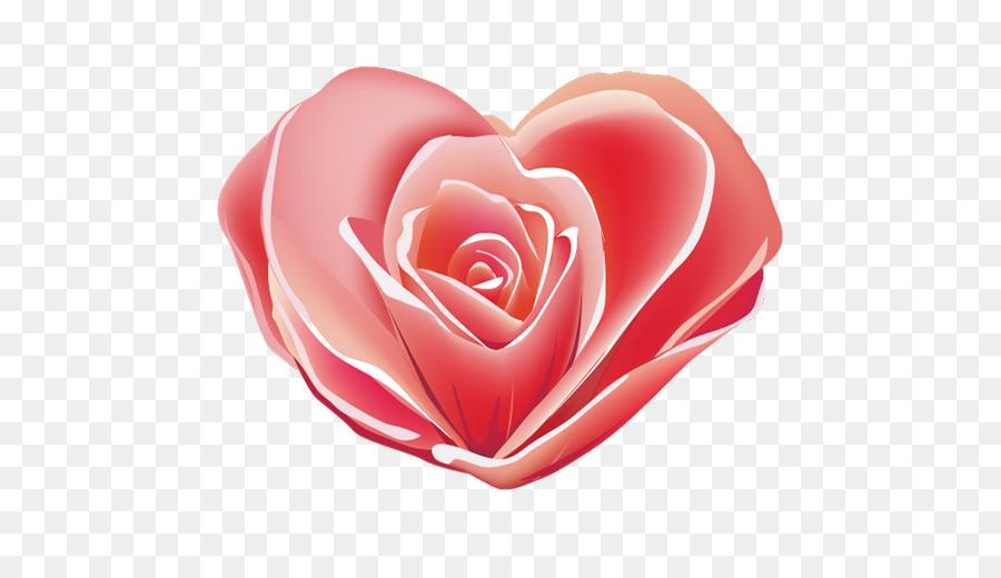 الوردي Png قصاصة فنية ارتفع الكمبيوتر الرموز القلب وردة حمراء