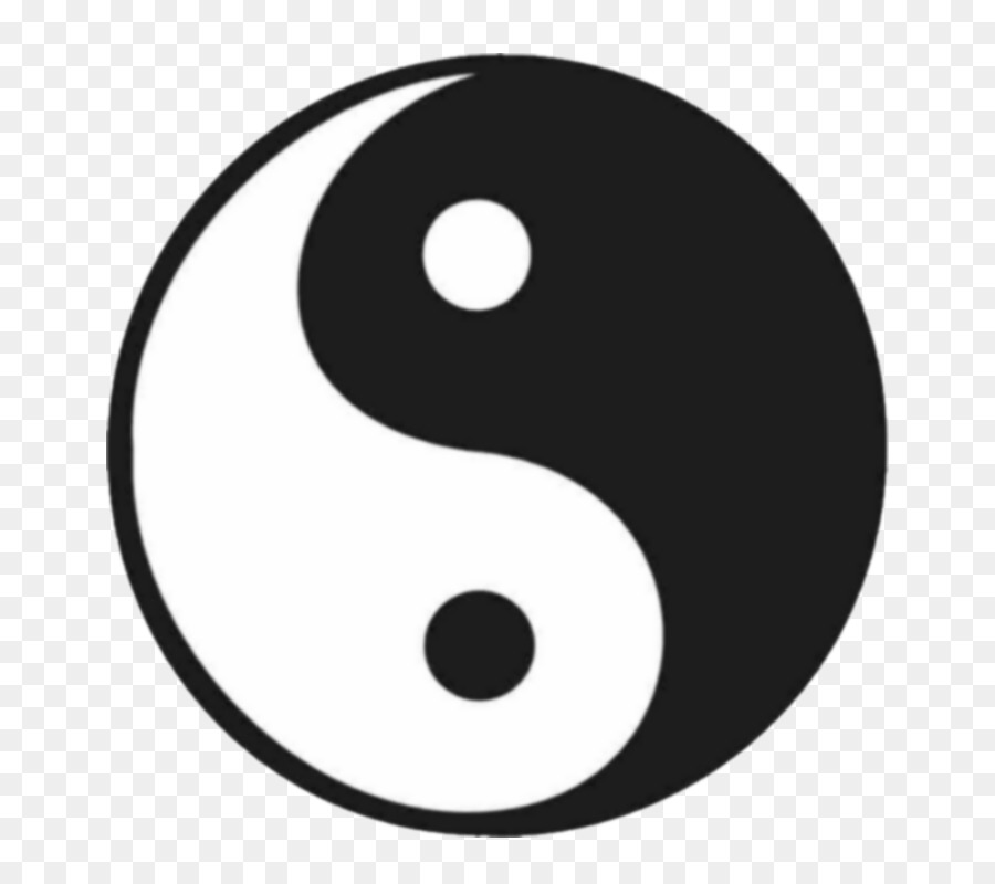 Yin And Yang Symbol Clip Art Yin Yang Png Download 800787