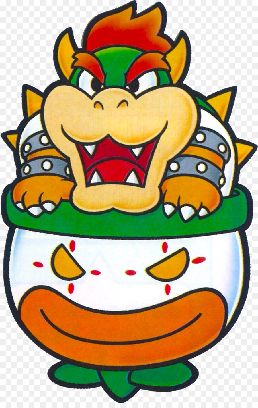 Paper Mario Bowser