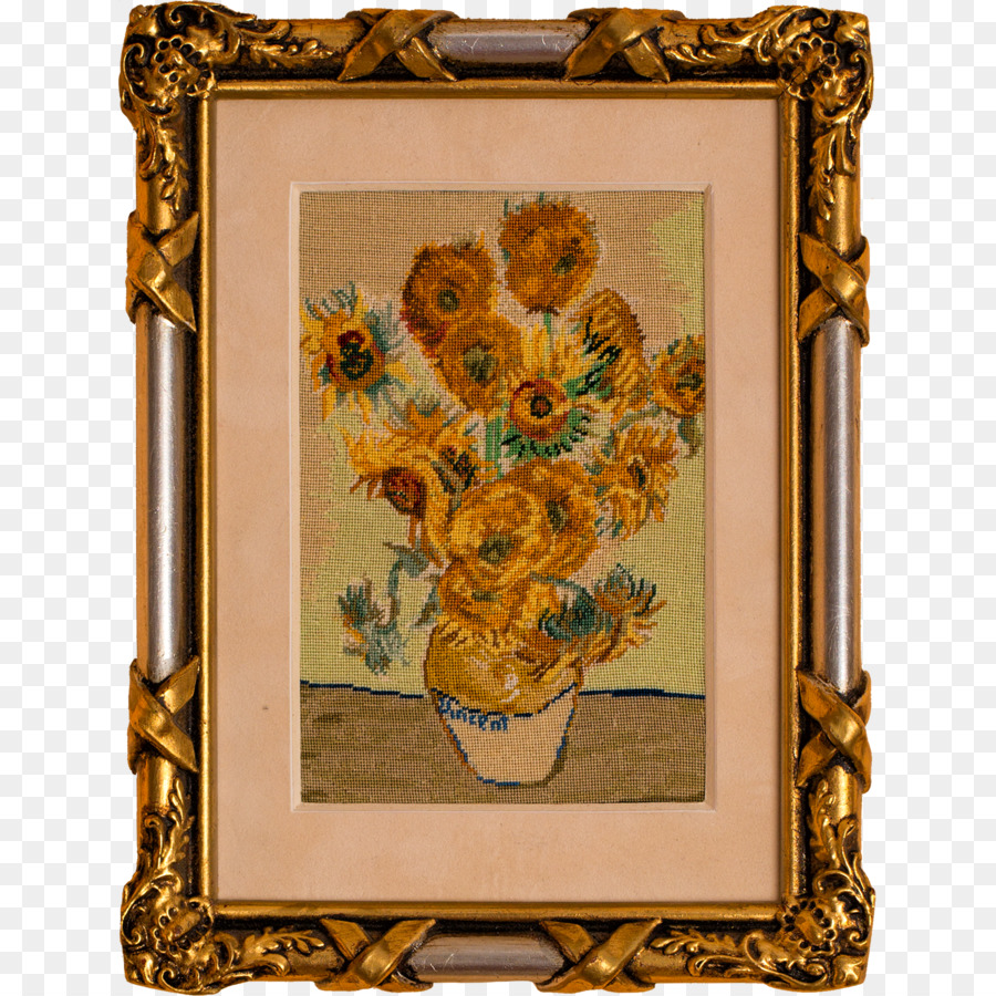 Needlepoint Sunflowers Embroidery thread Stitch - sunflowers png ...