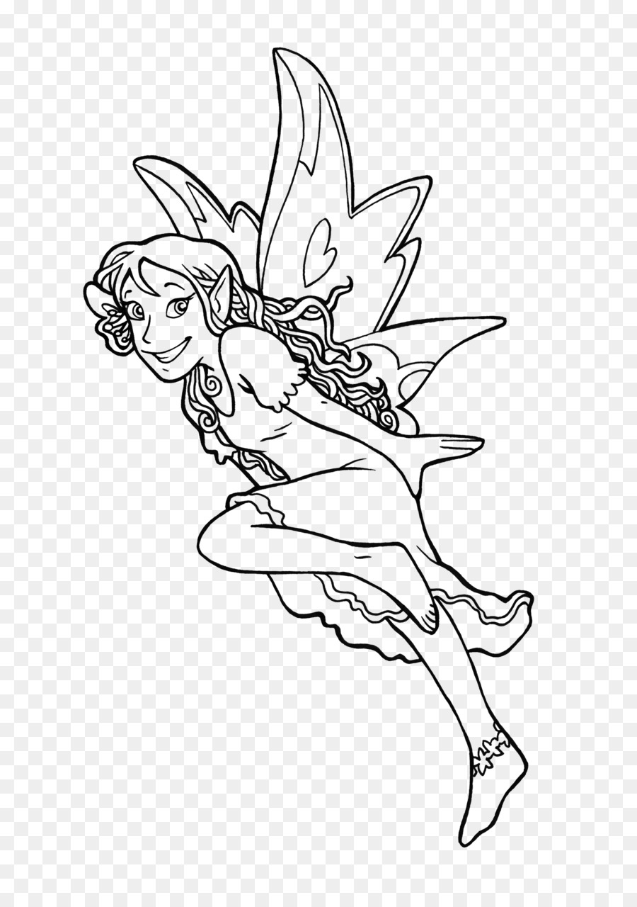 Coloring book Drawing Elf Fairy Legendary creature - magic book png ...