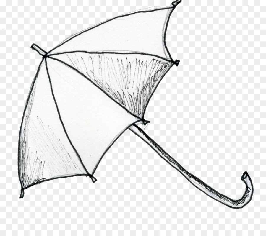 Línea de dibujo en el arte de Ropa Accesorios de Paraguas ...