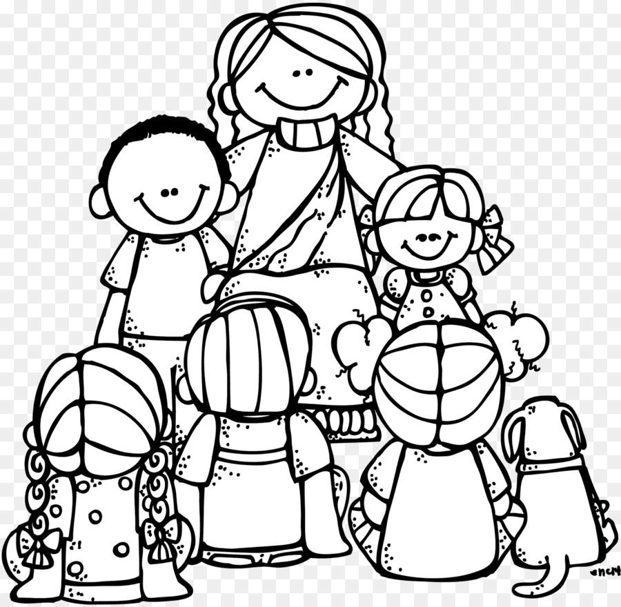 Libro para colorear de la Enseñanza de Jesús acerca de los niños ...
