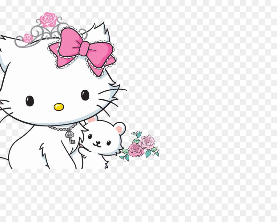 Hello Kitty Katzchen Katze Desktop Wallpaper Hallo Png