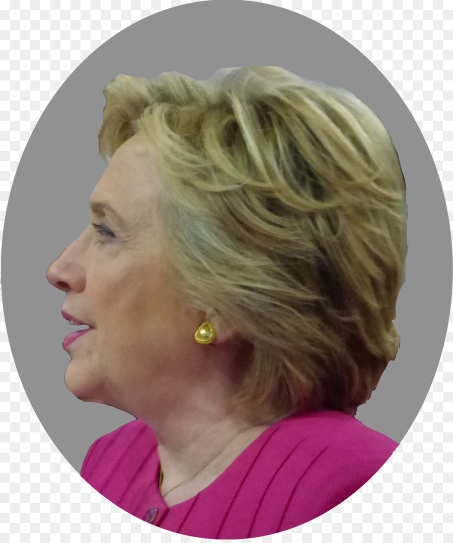Hair coloring Hairstyle Layered hair Eyebrow - hillary clinton png ...