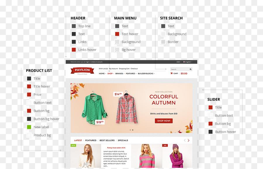 Template OpenCart Responsive web design Free software Theme ...