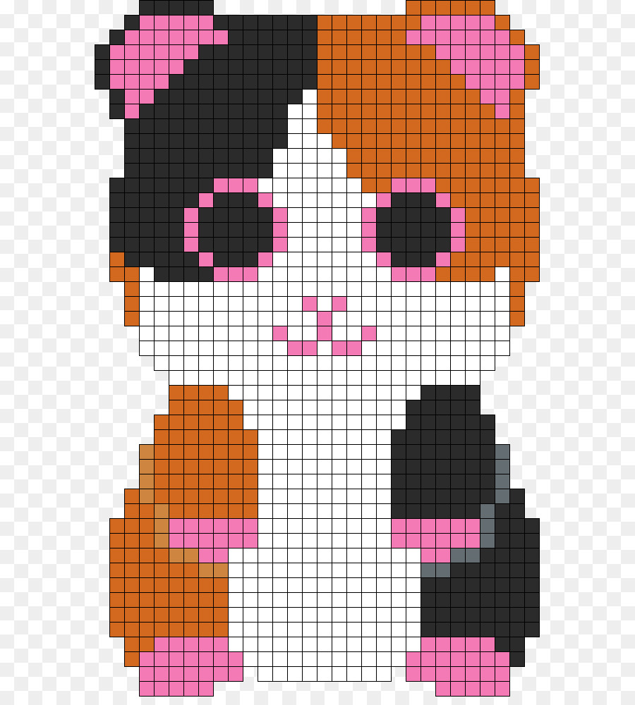 Bead Embroidery Cross Stitch Ty Inc Pattern Guinea Pig Png