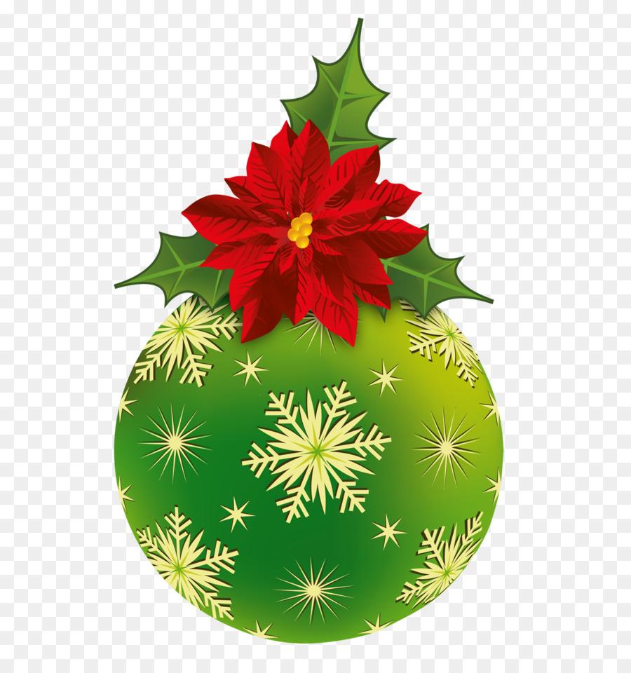 La flor de pascua de Navidad plantas de adorno de Navidad Clip art ...