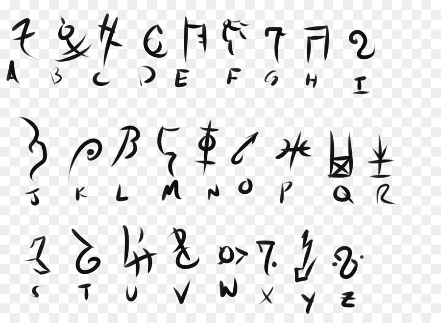 Runes Alphabet Enochian Letter Meaning Alphabet Png Download 900