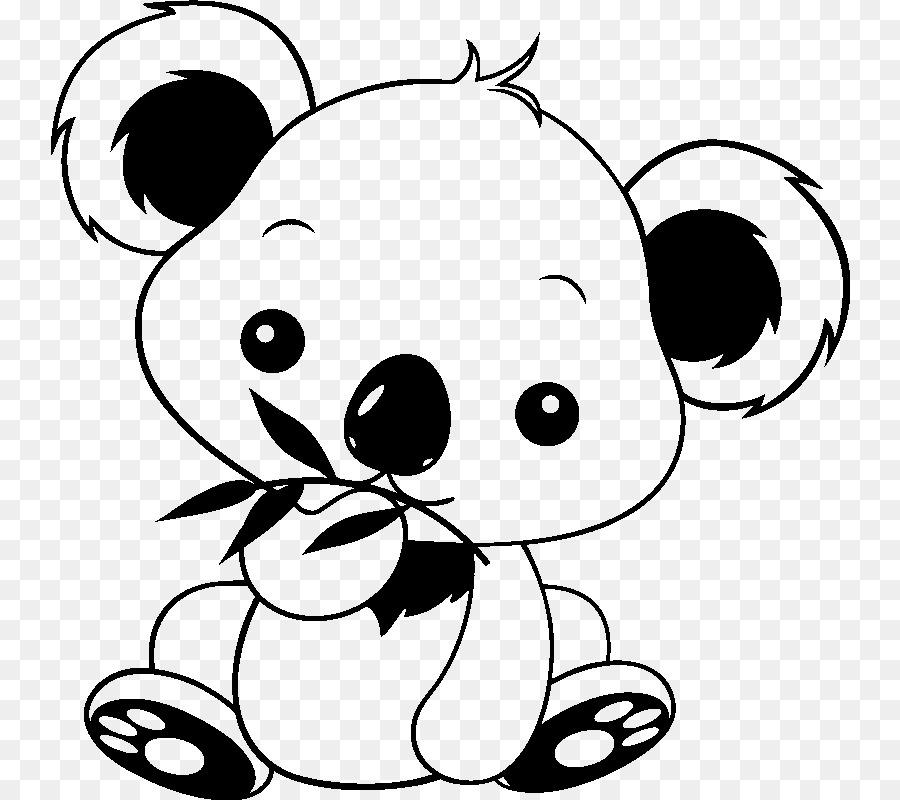 Koala Caballo De Color De Dibujo - niño png dibujo - Transparente ...