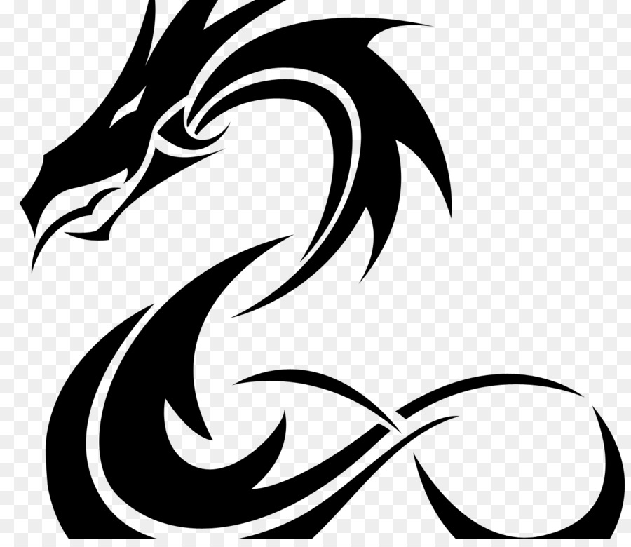 Tattoo Drawing Chinese Dragon Clip Art Tatto Png Download 900