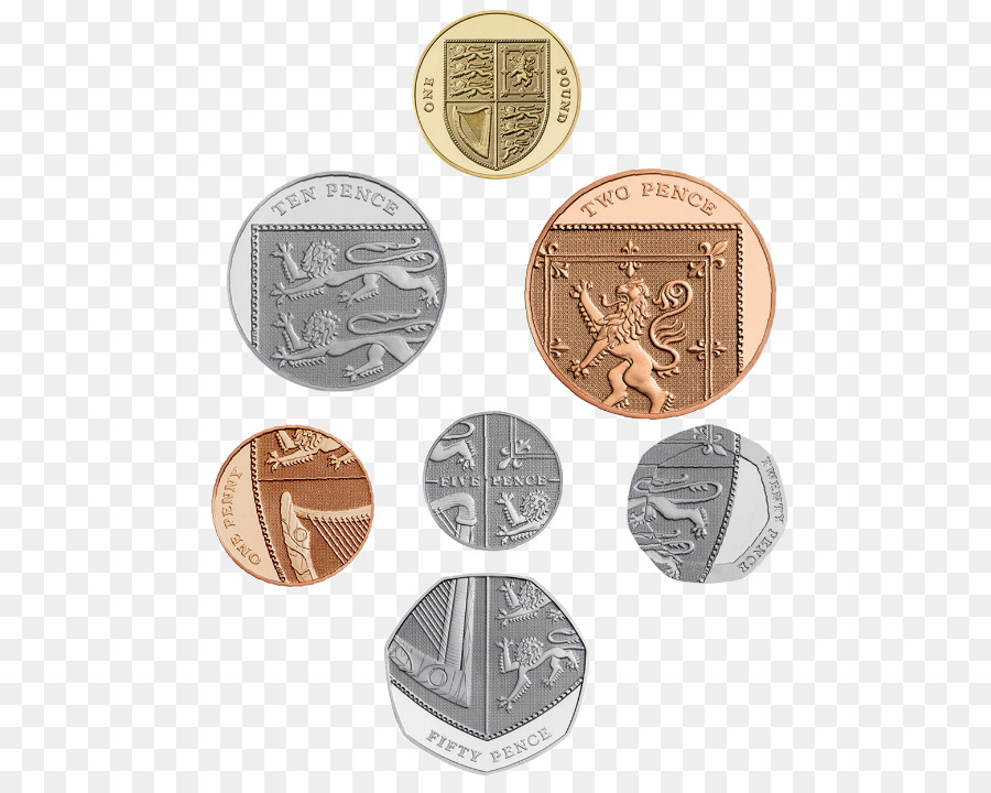 Coins Of The Pound Sterling Crown Five Pence Coin Png Download