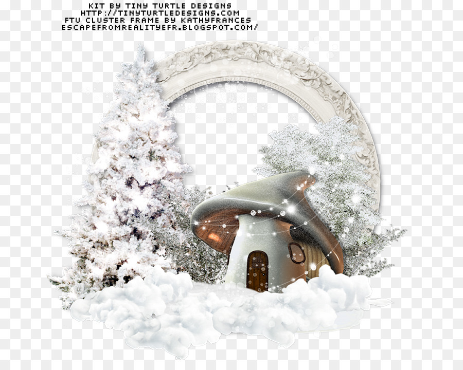Winter Picture Frames Snow Frost Easter Frame Png Download 720