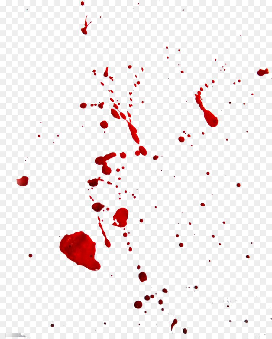 Mancha de sangre análisis de patrones de Color - acuarela de la ...