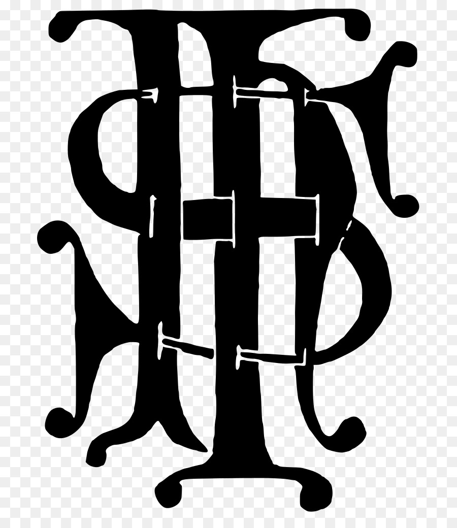 Christogram Chrystogram Monogram Chi Rho Christianity Ihs Png