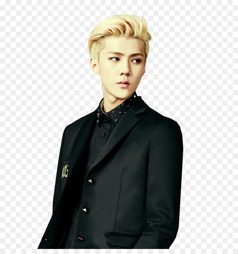Sehun Exo K Pop Ko Ko Bop Male Haircut Png Download 627 941