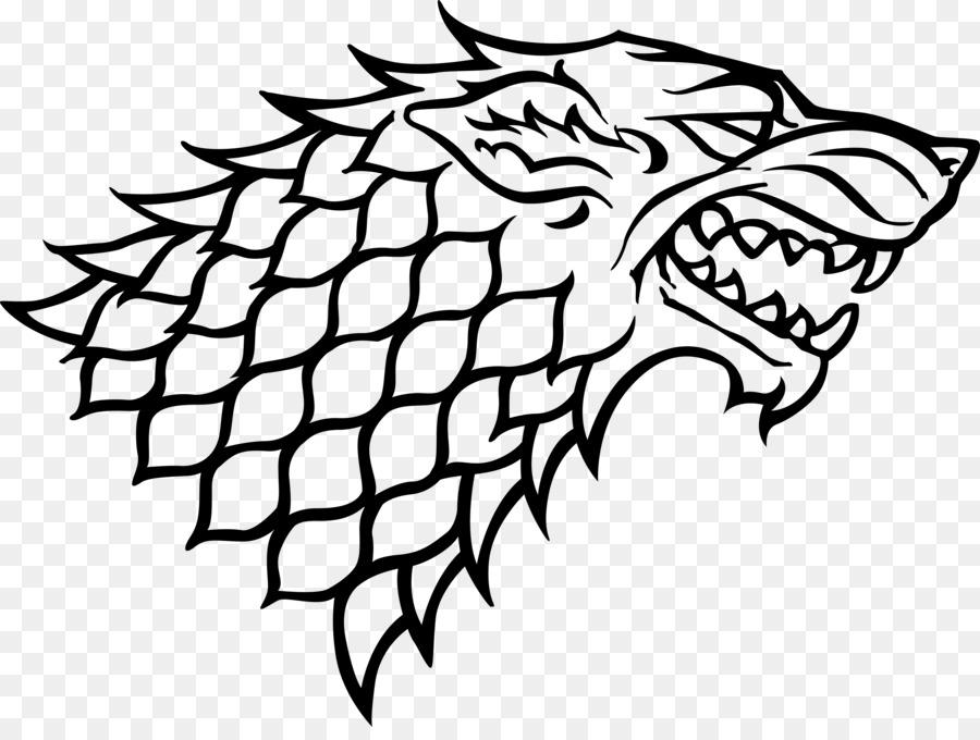 Amazing Sansa Stark House Stark Dire Wolf Winter Is Coming Gray Wolf   Throne