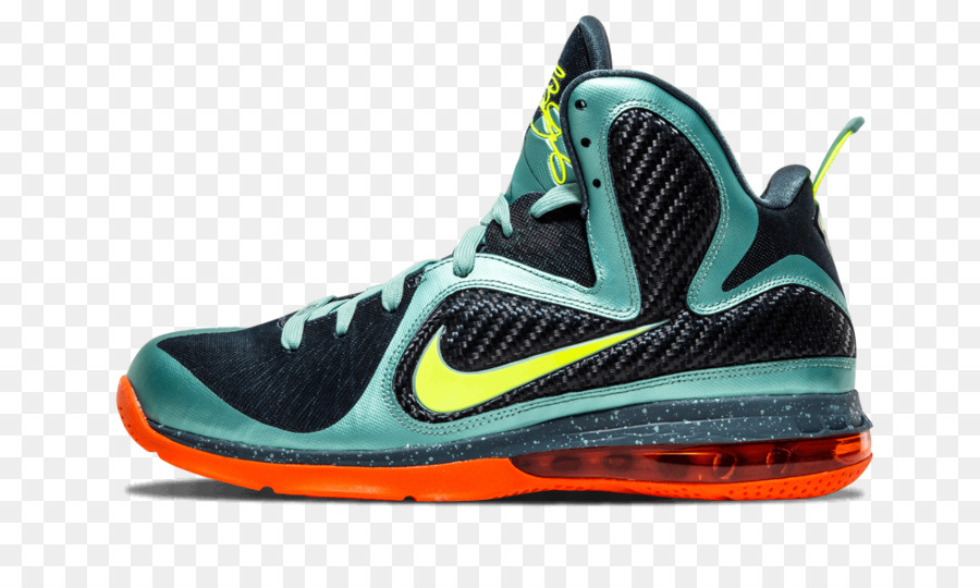 4cd5cb512e86 Nike Shoe Miami Heat South Beach Sneakers - lebron james png ...