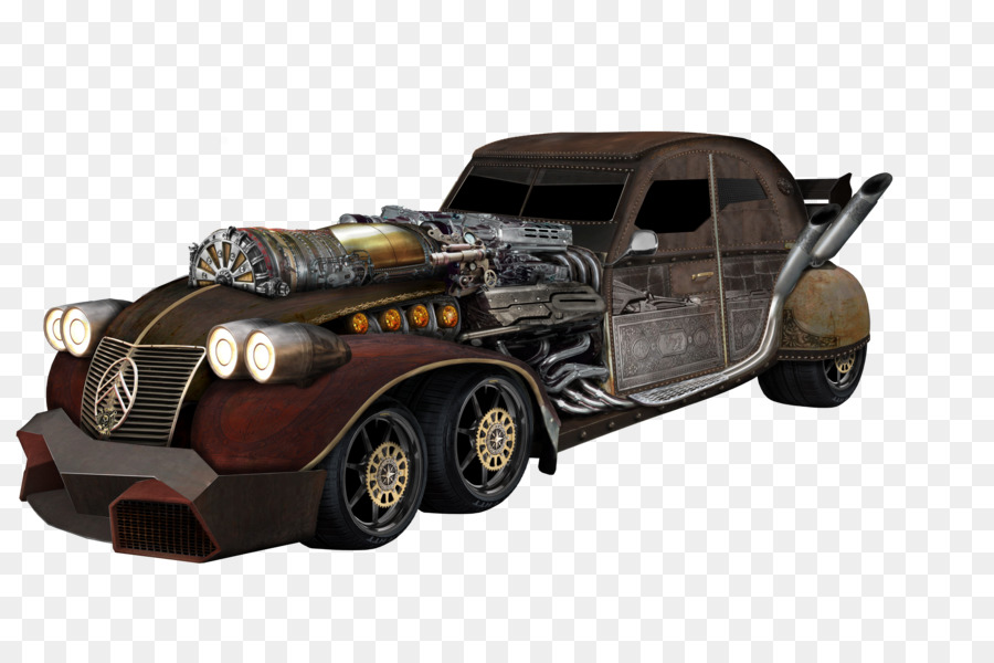 Inventor Builds Steampunk Inspired Automatron Car Inventor Builds ...