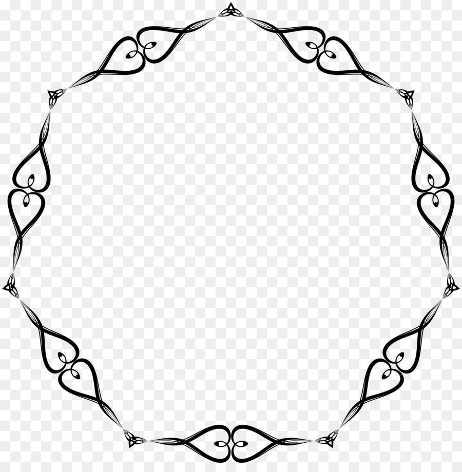 Grenzen und Rahmen, Clip art - Linien Rahmen png herunterladen ...