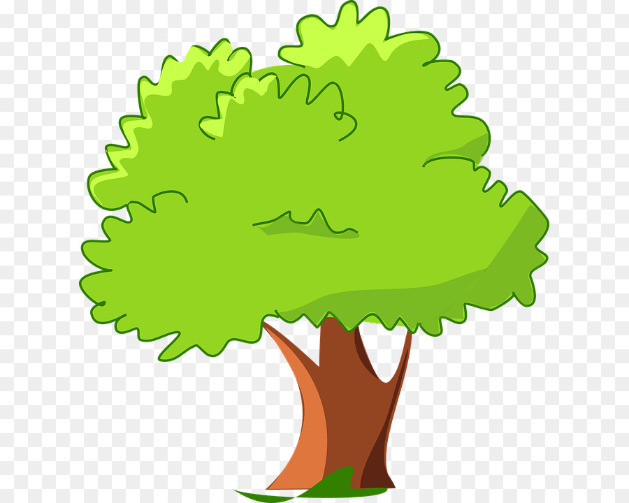 Tree Cartoon Clip Art
