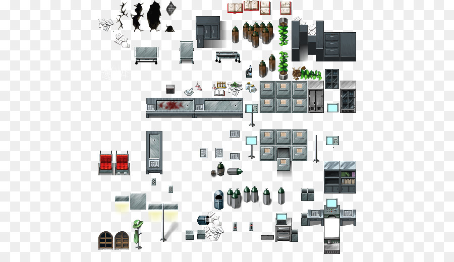 RPG Maker VX Tilebased Video Game Sprite Bathroom Interior Png - Bathroom maker