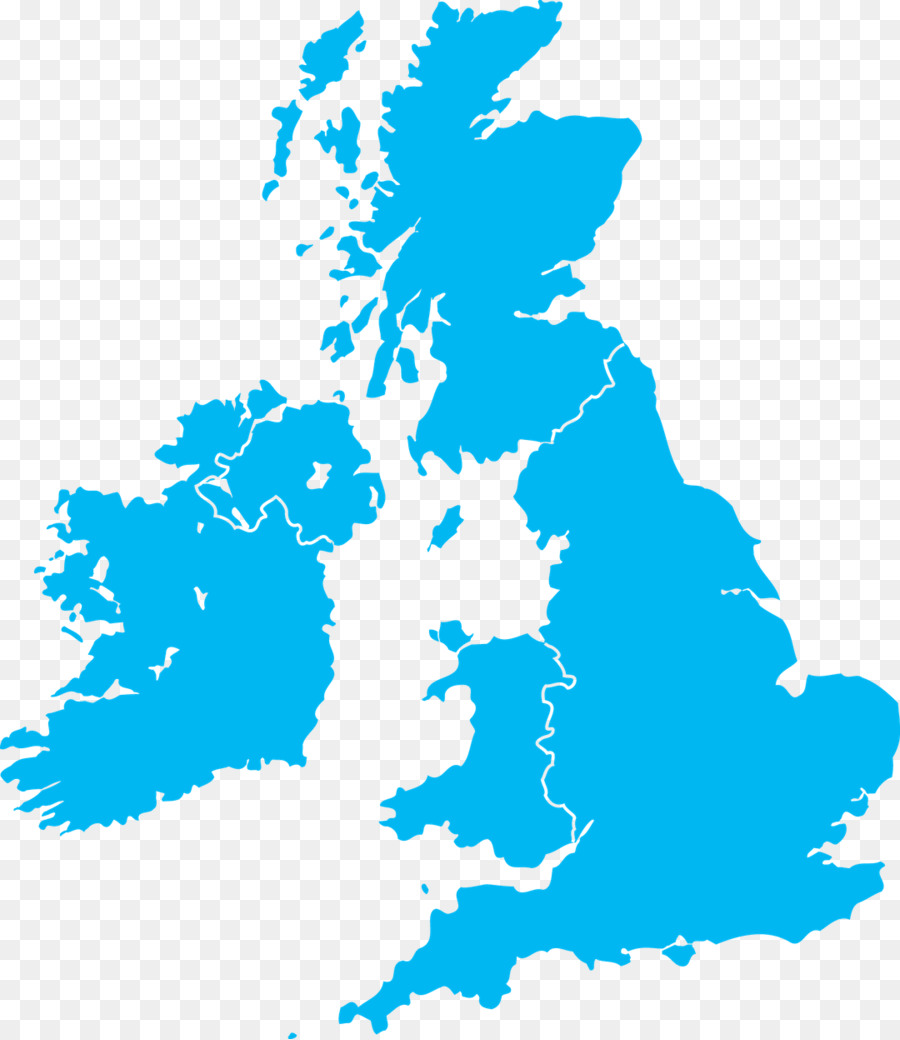 Great Britain British Isles Vector Map - uk map png download - 1080 ...