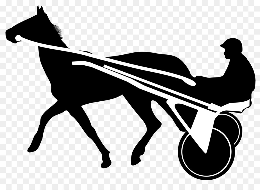 Horse Trot Harness Racing Clip Art
