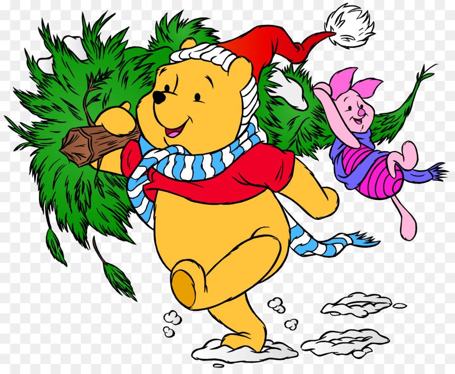winnie the pooh piglet tigger eeyore christmas winnie the pooh png