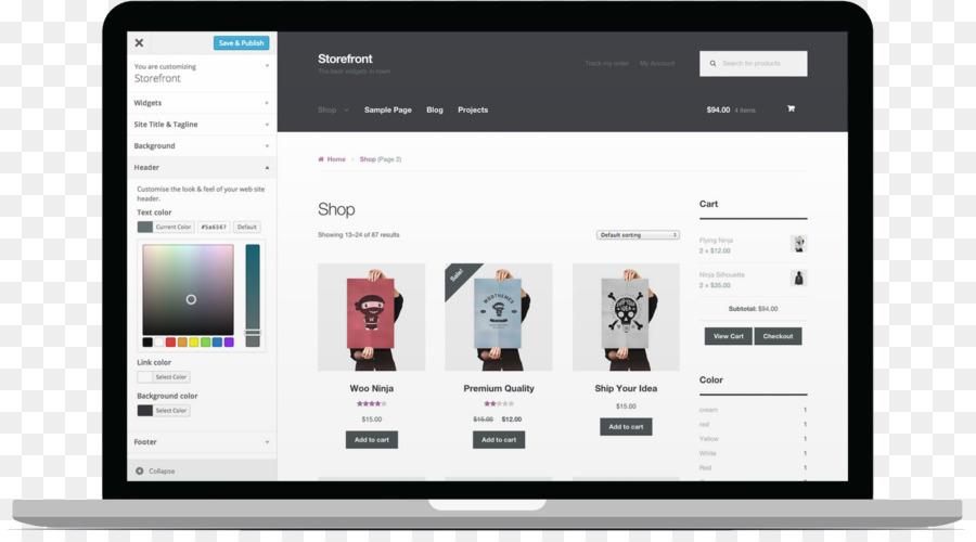 WooCommerce Tienda de WordPress E-commerce Tema - WordPress Formatos ...