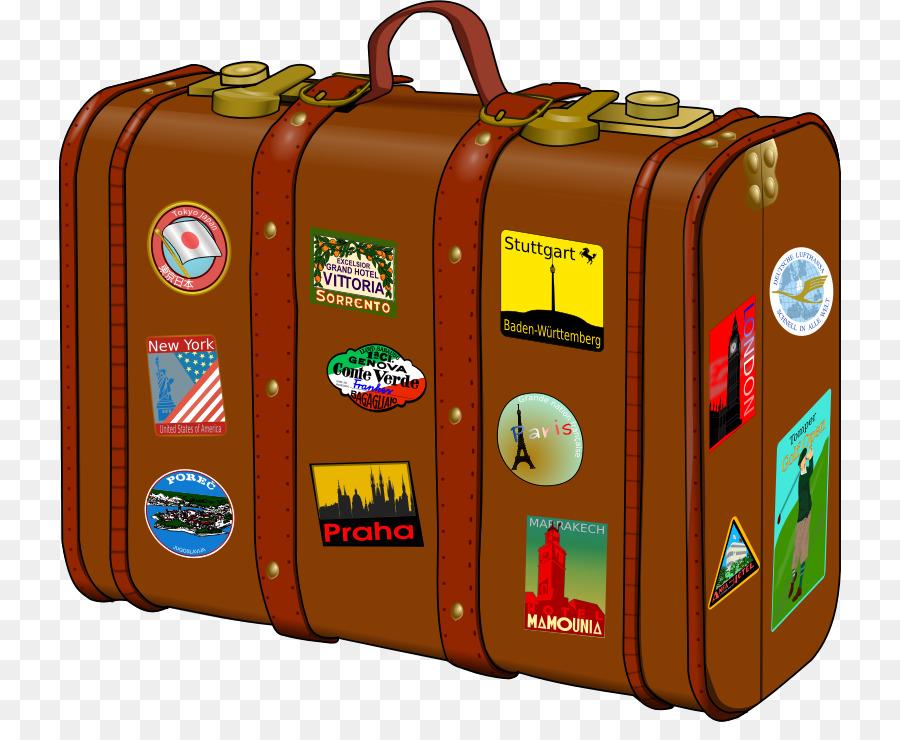 Suitcase Travel Baggage Sticker