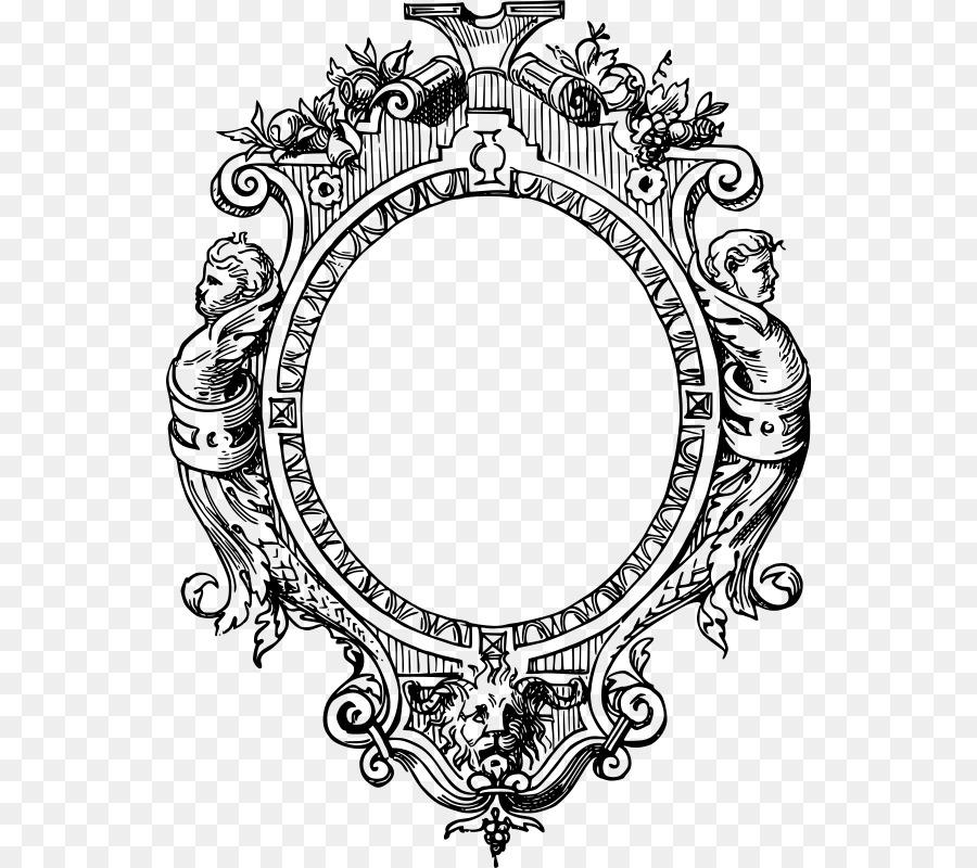 Picture Frames Decorative Borders Ornament Clip art - vector frame ...