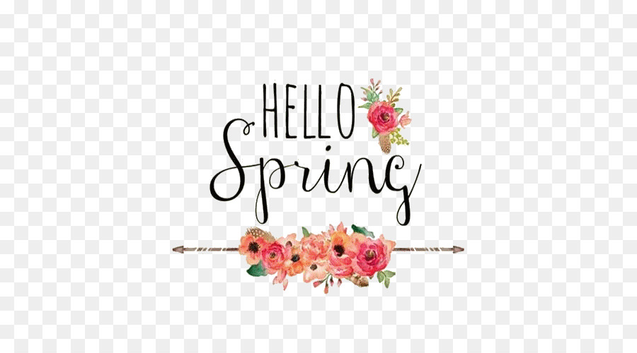 Hello Spring Desktop Wallpaper Photography Hello Png Download
