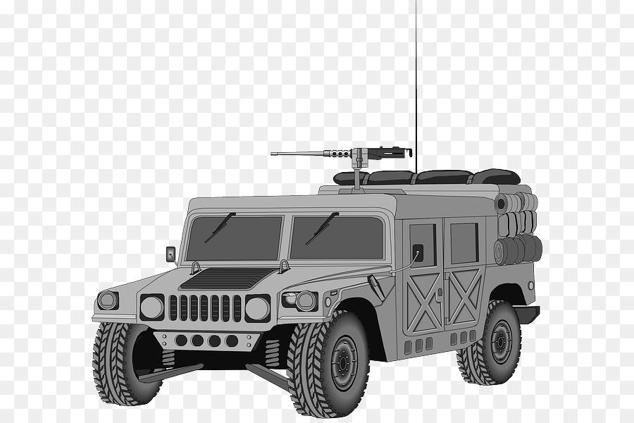 Hummer H2 Humvee Mobil Clip Art Kartun Mobil Unduh Otomotif