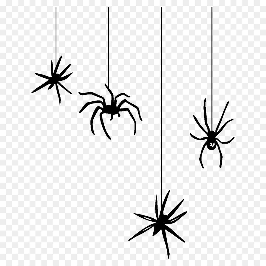 Tela De Arana De Halloween Clip Art Arana Png Dibujo - Dibujos-araas-halloween
