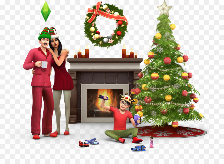 The Sims 4 The Sims 3 Seasons The Sims Online Christmas Day Spa