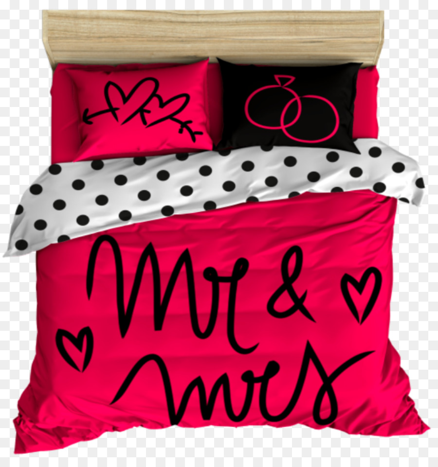 Textile Bed Sheets Pillow Duvet Cover Linens   Mr. Mrs.