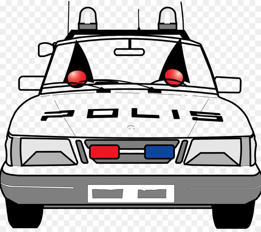 Coche de policía oficial de Policía para Colorear libro - el coche ...