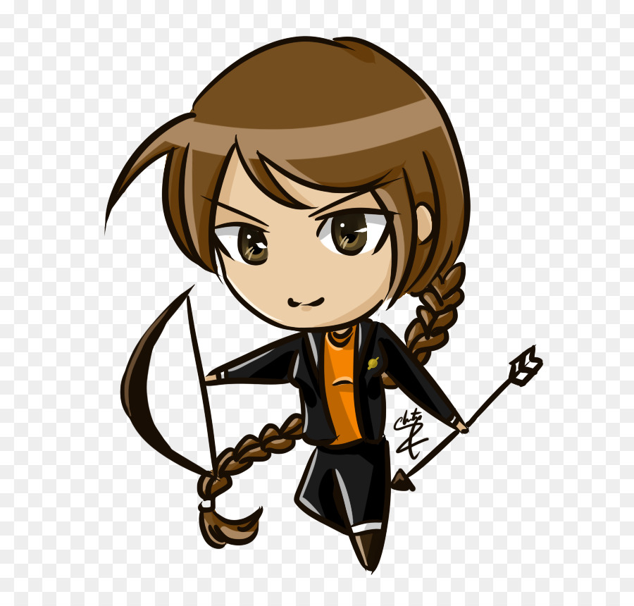 katniss everdeen peeta mellark mockingjay drawing cartoon