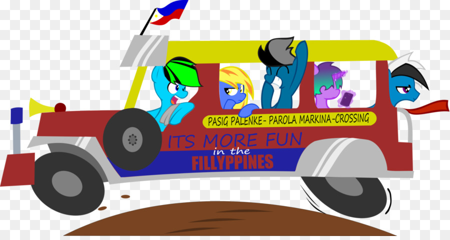 Jeepney Vehicle Cartoon Clip Art Jeepney Png Download 1233647