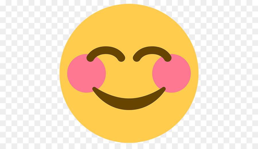 Smiley Face Emoticon Emoji Glowing Halo Png Download 512512