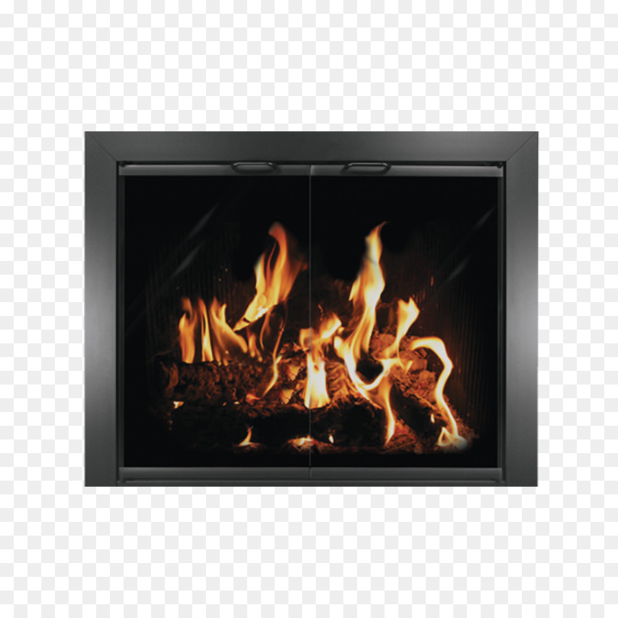 Fireplace Thermo Rite Sliding Glass Door Chimney Png Download