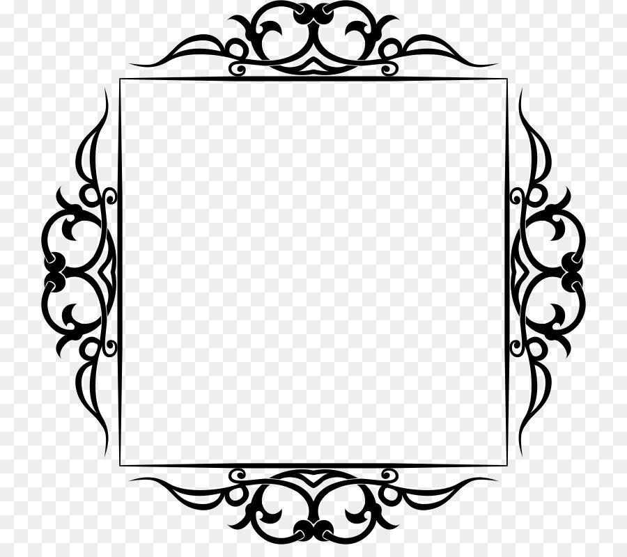 Borders and Frames Clip art - Frame Border png download - 782*782 ...