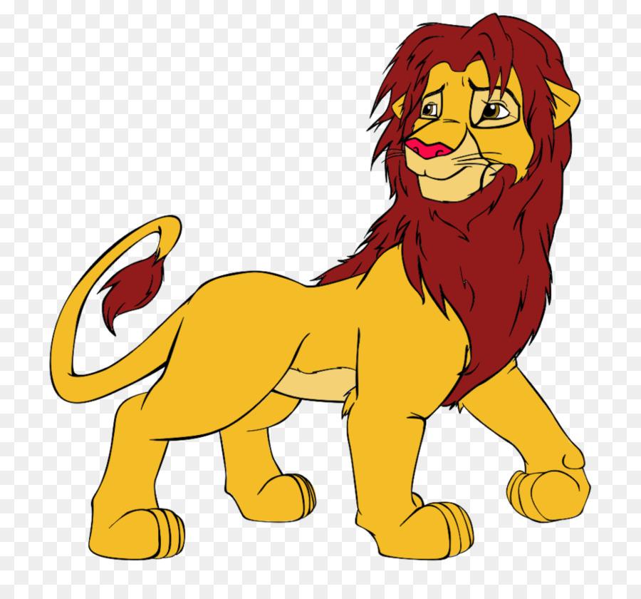 León Simba Color De Dibujo - el rey león Formatos De Archivo De ...
