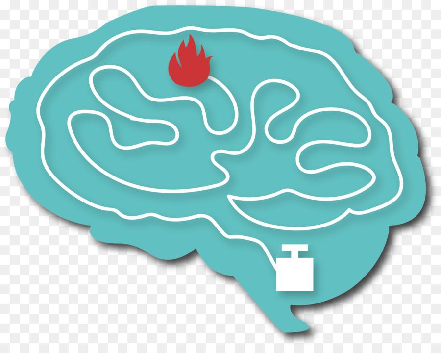 Abeja Cartel Verde Azulado De La Fuente - Cerebro png dibujo ...