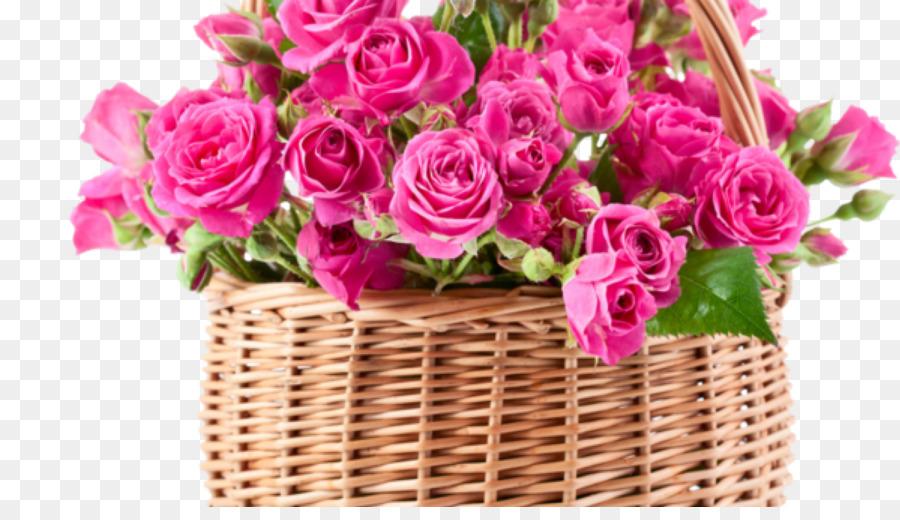 Flower bouquet Rose Pink flowers Floral design - good morning png ...