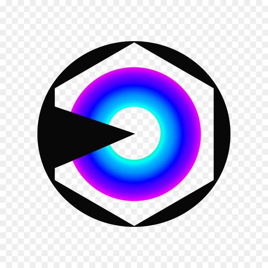 Violeta Púrpura Círculo Clip de la Línea de arte - prisma Formatos ...
