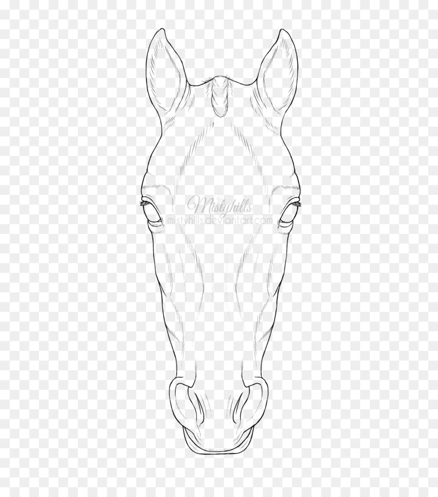 Pferd Zeichnen Linie Kunst Schnauze Skizze Elefant Zeichnen Png