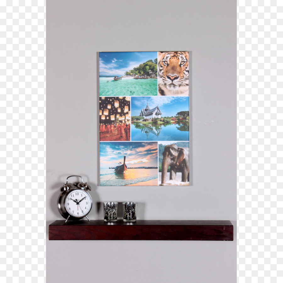 Picture Frames Collage Canvas Photomontage - collage png download ...